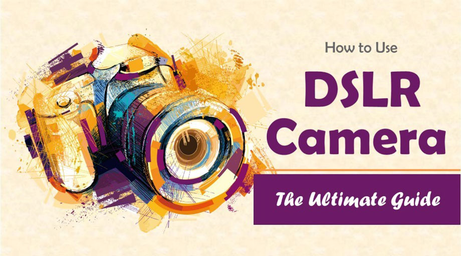 How to Use a DSLR Camera - The Ultimate Guide (Infographic)