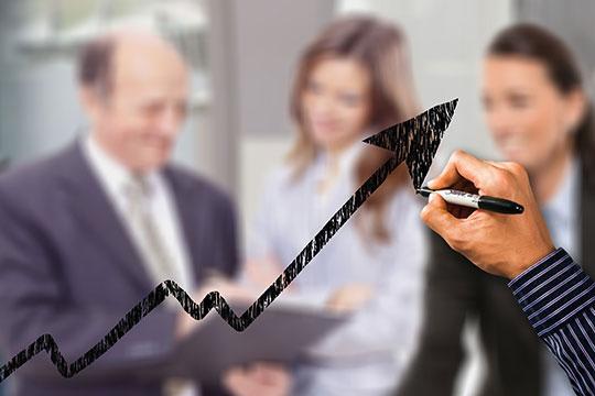 small-business-success-trend-profit-partnership-collaboration-rank-management