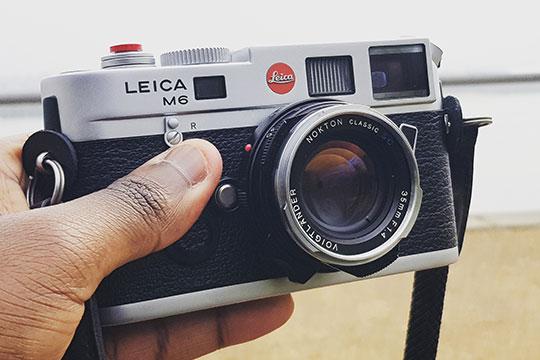 Leica-M6-camera-lens