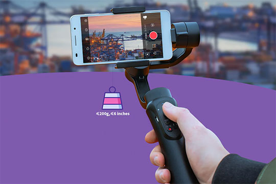 Cinepeer C11 3-axis Gimbal Stabilizer - 6