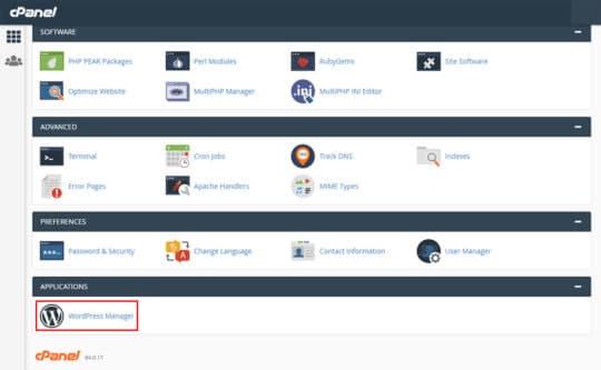 cpanel-demo-wordpress-create-business-website