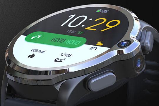 KOSPET Prime 4G Smartwatch Phone - 2