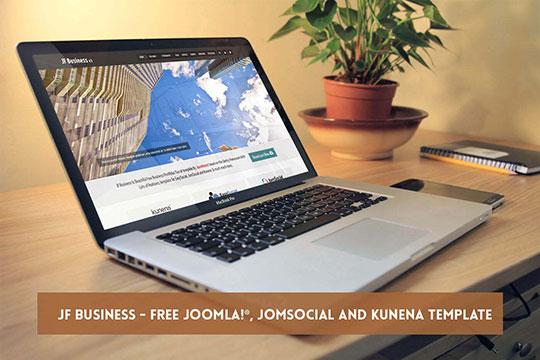 JF Business - JoomForest Free Joomla Templates