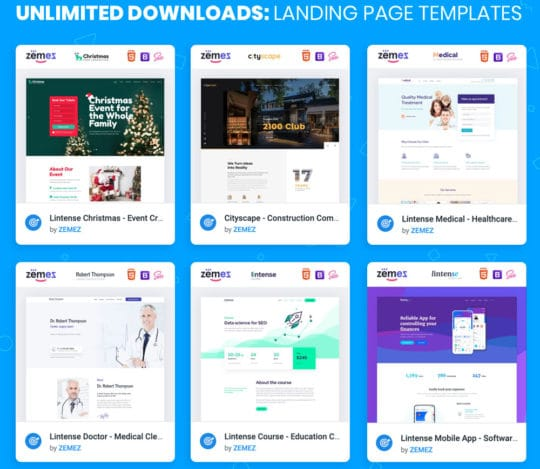landing-page-templates