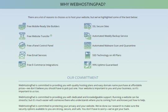 webhostingpad.in-offerings