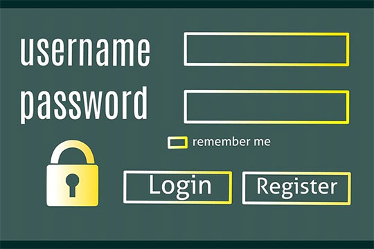 website-safety-security-login-signup-form-password-registration