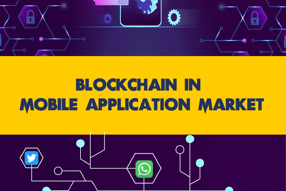 Blockchain in Mobile Application Market (Infographic)