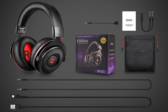 eksa-e900-pro-gaming-headset-box-content