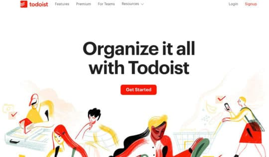 Todoist-landing-page-content
