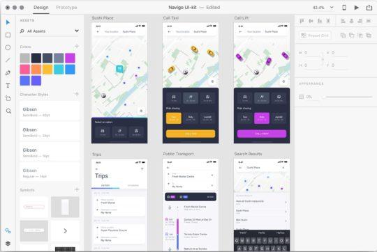 Adobe-XD-web-design-prototyping-tools