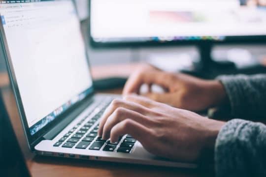 office-work-desk-typing-laptop-technology