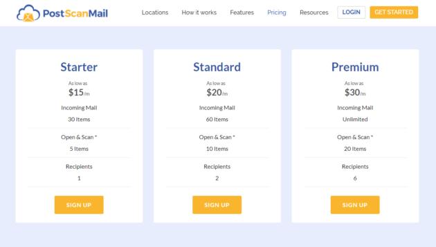 Postscan-mail-plan-pricing