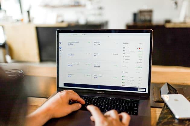 application-development-design-SaaS-software-laptop-work-desk-office