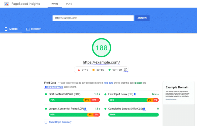 google-pagespeed-insights-tools-measure-core-web-vitals