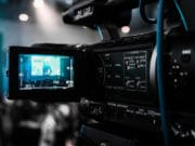 Broadcast-Camcorder-Camera-Record-Shooting-Video-Production