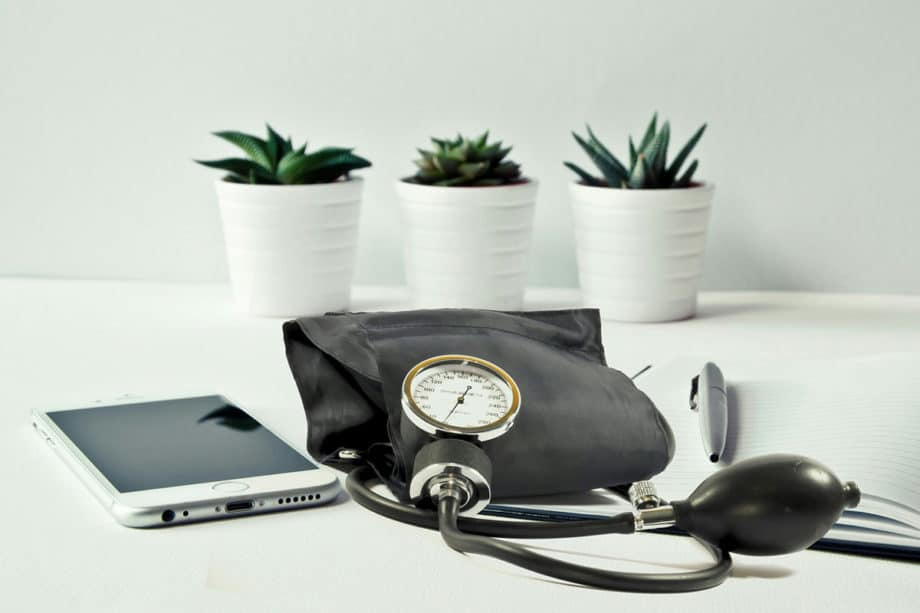 blood-pressure-clinic-checkup-equipment-healthcare-medical-monitor