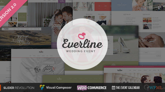 Wedding Event - Everline WordPress Theme