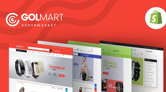 Ap Golmart - Responsive Shopify Theme