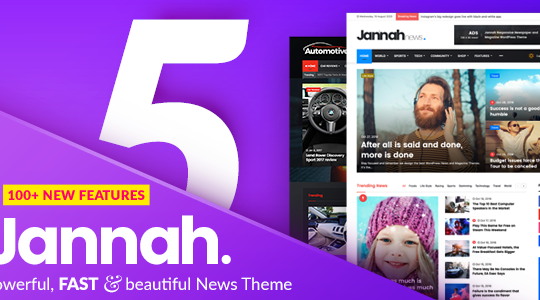 Jannah - Newspaper Magazine News BuddyPress AMP