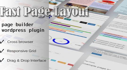 Fast Page Layout - WordPress Page Builder