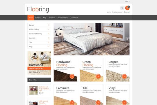 Flooring Responsive Shopify Theme Shopify Theme