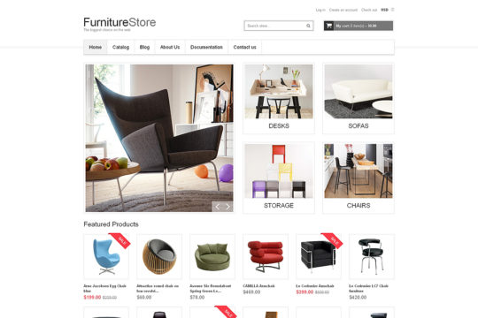 Interior and Furniture Shopify Theme by TemplateMonster