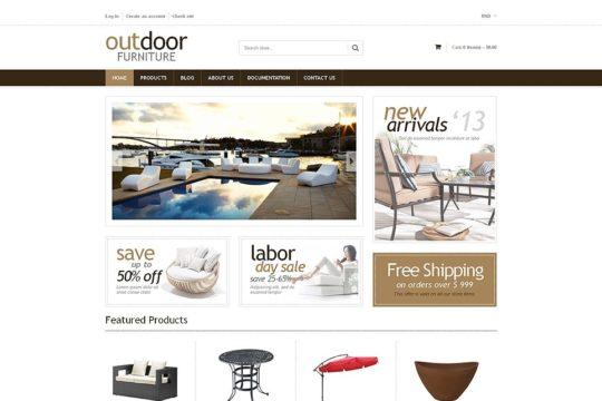 Furniture Responsive Shopify Theme Shopify Theme