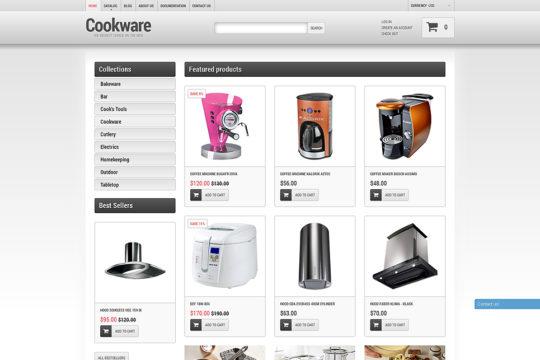 Cookware Shopify Theme Shopify Theme