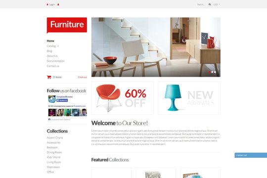 Furniture Pieces Shopify Theme Shopify Theme