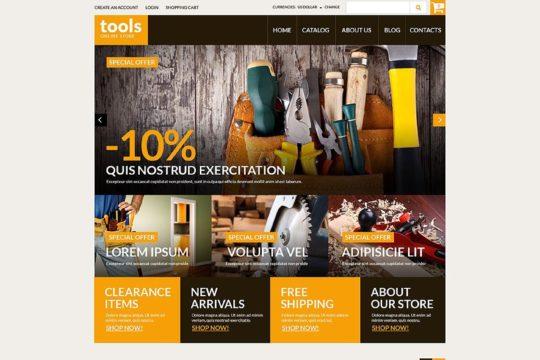 Handyman's Tools Joomla Template