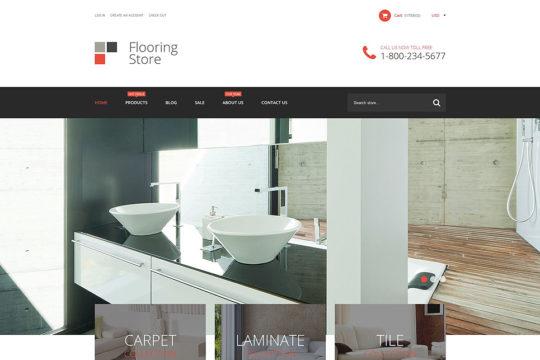 Flooring Store Shopify Theme Shopify Theme