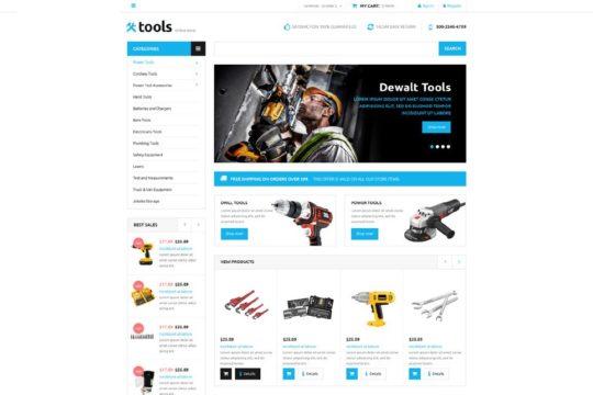 Tools Store Joomla Template
