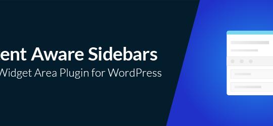 Unlimited Custom Sidebars – Content Aware Sidebars