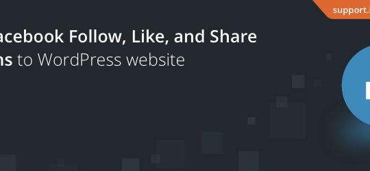 BestWebSoft's Like & Share
