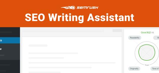 SEMrush SEO Writing Assistant