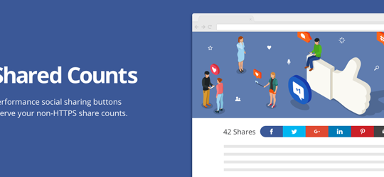 Shared Counts – Social Media Share Buttons