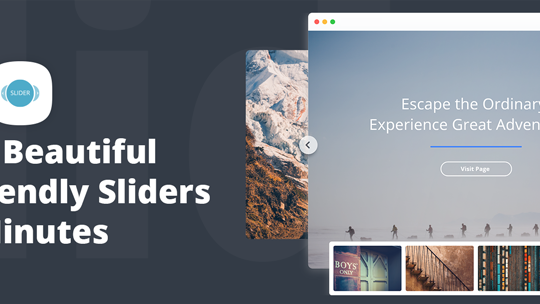 Slider by 10Web – Responsive Image Slider