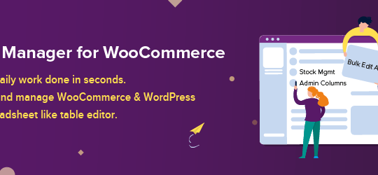 Smart Manager For WooCommerce – Stock Management, Bulk Edit & more…